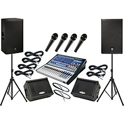 PreSonus Studiolive 16.0.2 / EV ELX115P Mains and Monitors Package (SL1602ELX115PMM)
