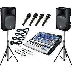 PreSonus Studiolive 16.0.2 / Mackie Thump TH-15A PA Package (SL1602TH15A)