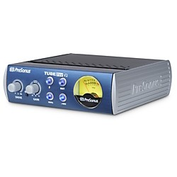 PreSonus TubePre V2 Single-Channel Tube Preamplifier/DI Box (TubePre V2)