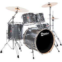 Premier Powerhouse Stage 20 5-Piece Drumset with Cymbals and Hardware (6409925SGW-ZBT)