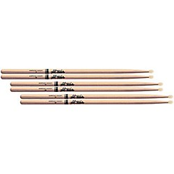 Pro-Mark 3-Pair American Hickory Drumsticks (KIT769818)