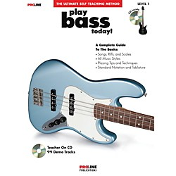 ProLine Play Bass Today! (Book/CD) (699606)