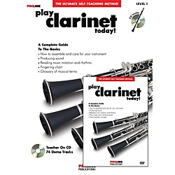 ProLine Play Clarinet Today Beginner's Pack Book/CD/DVD (121319)