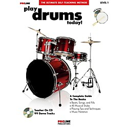 ProLine Play Drums Today! (Book/CD) (699525)