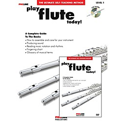ProLine Play Flute Today Beginner's Pack Book/CD/DVD (121318)