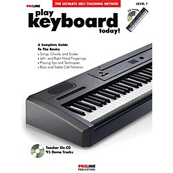 ProLine Play Keyboard Today! (Book/CD) (699542)
