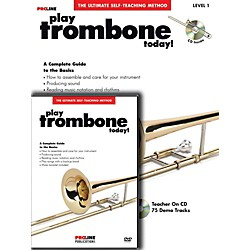 ProLine Play Trombone Today Beginner's Pack Book/CD/DVD (121327)