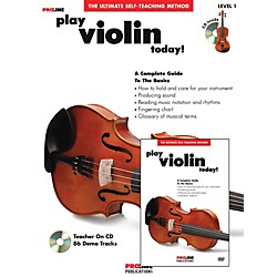 ProLine Play Violin Today Beginner's Pack Book/CD/DVD (121328)