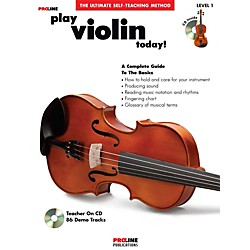ProLine Play Violin Today Book/CD (121303)