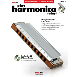 ProLine ProLine Play Harmonica Today! Method Book with CD & DVD (702430)