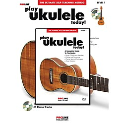 ProLine ProLine Play Ukulele Today! Method (Book/CD/DVD) (702429)