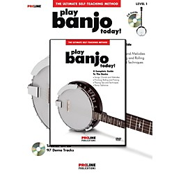 ProLine Proline Play Banjo Today! Method (Book/CD/DVD) (702586)