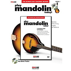 ProLine Proline Play Mandolin Today! Method Book with CD & DVD (702587)