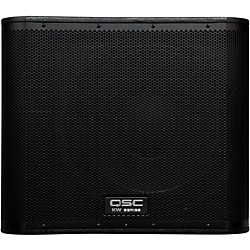 "QSC KW181 Powered Sub Woofer 18"" 1000w (USED004000 KW181)"