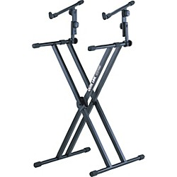 Quik-Lok Two Tier Heavy Duty X Keyboard Stand (AMS-QL-642)