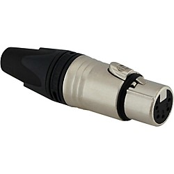 RAPCO Neutrik XX-Series XLR 5-pin inline connector (NC5FXX.CL)