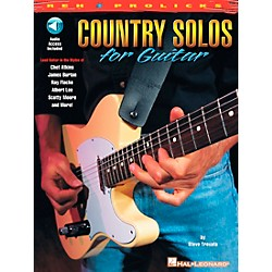 REH Country Solos for Guitar (Book/CD) (695448)
