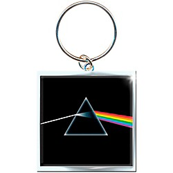 ROCK OFF Pink Floyd Key Ring Dark Side Of The Moon Album Keychain (PFKEY01)