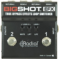 Radial Engineering BigShot EFX Effects Loop (USED004000 R800-7204)