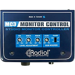 Radial Engineering MC3 Passive Studio Monitor Control (USED004000 R800 1410 00)