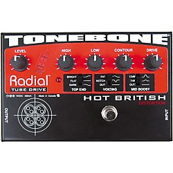 Radial Engineering Tonebone Hot British Tube Drive Effects Pedal (R800 7020 USED)