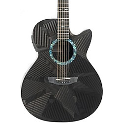Rainsong Black Ice Series BI-WS1000N2 Graphite Acoustic-Electric Guitar (USED004000 BI-WS1000N2)