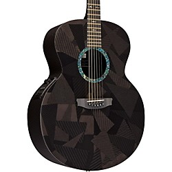 Rainsong Black Ice Series BIJM1000N2 Graphite Acoustic-Electric Guitar (USED004000 BIJM1000N2)