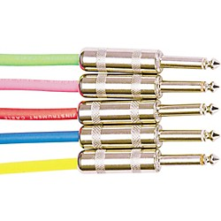 Rapco Horizon Instrument Cable Assorted Colors (G1-10.NB)