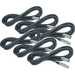 Rapco Horizon Lo-Microphone Cable 20 Feet 6-Pack (KIT885526)