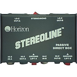 Rapco Horizon STL-1 Stereo Line Direct Box (STL-1)