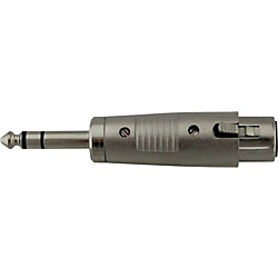 "Rapco XLR Female to 1/4"" Male Stereo Adapter (HAFS.CL)"