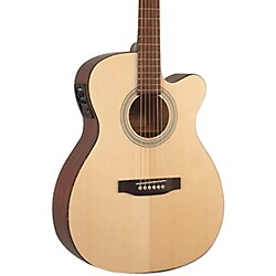 Recording King Classic Series OOO Cutaway Acoustic-Electric Guitar (USED004000 ROM-06-CFE4)