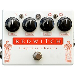 Red Witch Empress Analog Chorus-Vibrato Guitar Effects Pedal (USED004000 REDCHORUS)