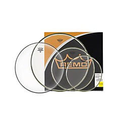 "Remo BA Pro Pack 10"", 12"" and 16"" Clear with Free 14"" Hazy (PP-1990-BA)"
