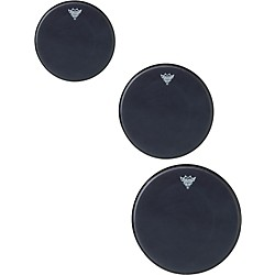 Remo Black Suede Emperor Rock Tom Drumhead Pack (PP-1670-ES-)