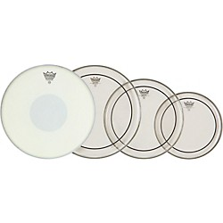 Remo Drum Head Pack Clear Pinstripe with Emperor X Snare Head (PP-0870-PS)