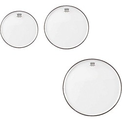 Remo Emperor Clear Tom Drumhead Pack, New Fusion (PP-1420-BE-)