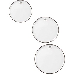 Remo Emperor Clear Tom Rock Drumhead Pack (PP-1680-BE-)