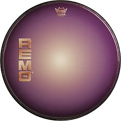 Remo Graphic Heads Purple Sunburst Resonant Bass Drum Head (PA-1022-B1-)