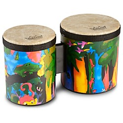 Remo Kid's Percussion Rain Forest Bongos (KD-5400-01)