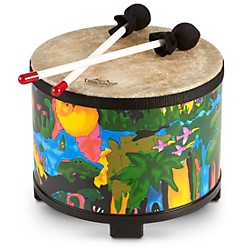 Remo Kid's Percussion Rain forest Floor Tom (KD-5080-01)