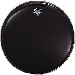 Remo MARCHING BATTER HEAD CRIMPLOCK EMPEROR EBONY (BE-0406-MP)