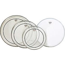 Remo Pinstripe PrePak Drumheads with Coated Snare Head (PP-0312-PS-)