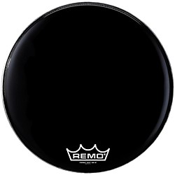 Remo Powermax Ebony Marching Bass Head (PM-1414-MP-)