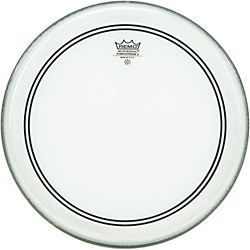 Remo Powerstroke 3 Clear with Dot Batter (P3-0314-C2-)