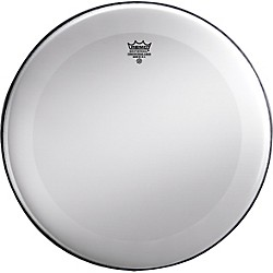 Remo Powerstroke 3 Smooth White No Stripe Bass Drum Head (P3-1222-C1)