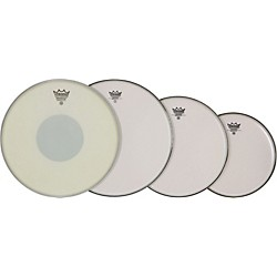 "Remo Smooth Emperor Drumhead ProPack 10"", 12"", 14"" with 14"" Emperor X Snare Head (PP-0840-BX-)"