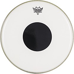 Remo Smooth White Control Sound Top Black Dot (CS-0214-10-)