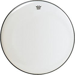 Remo WeatherKing Smooth White Ambassador Bass Drumhead (BR-1218-00)