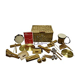 Rhythm Band Deluxe 25 Player Bamboo Rhythm Kit (BK25)